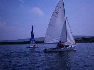 Wayfarer dinghy